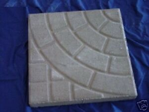 Circle Brick Paving 16in Patio Paver Concrete Stepping Stone Garden Mold 2008