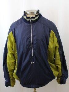 3e6b03f44f Vintage 90s Nike Windbreaker Jacket Half Zip Mens Size XL Swoosh ...