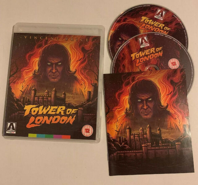 Tower Of London [Blu-ray & DVD] [Region B & Region 2] With Booklet Vincent Price