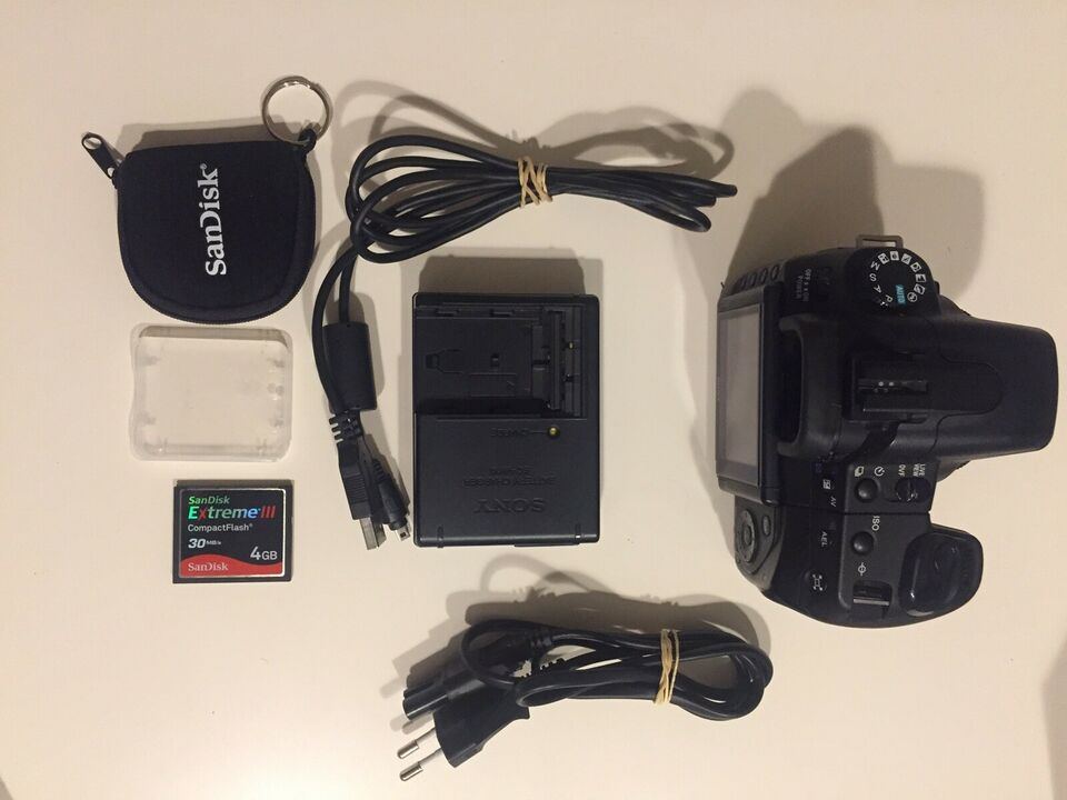Sony, a350, spejlrefleks