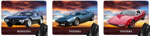 Mauspad mit Motiv De Tomaso Auto Modelle Car Mousepad Handauflage