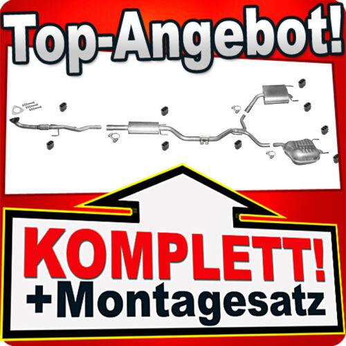 Auspuff OPEL VECTRA C 2.2 Direct Rohr Auspuffanlage W61