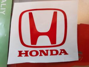 Honda logo vinyl sticker