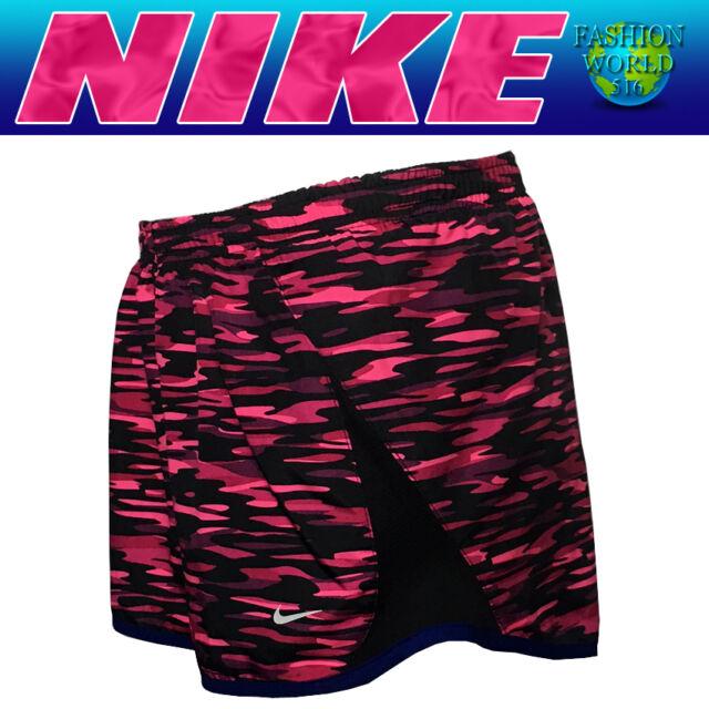 "Nike Dri-FIT Tempo 3/"" Women Sz XS Running Training Black Shorts Inner Brief"