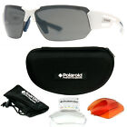 Polaroid 7422/s Men's Polarized Sports Sunglasses w/ Interchangeable Lenses