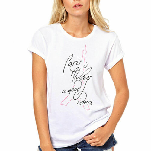 Paris Is Always a Good Idea French Vacation T Shirt Audrey Hepburn inspirational