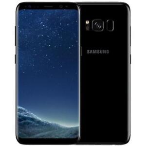 Samsung Galaxy S8 G950U 64GB - Factory Unlocked (Verizon, AT&T T-Mobile) Black