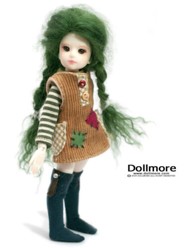 Dollmore BJD Clothes Banji Outfit Tomboy Girl Set