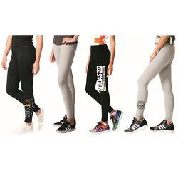 adidas Originals Trefoil Leggings Fitnesshose Damen schwarz grau
