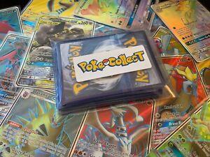 Pokemon-Card-Lot-20-Holo-amp-Rare-Pack-EX-GX-V-VMAX-Rainbow-Secret-Full-Art