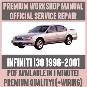 * Atelier Manual Service & Repair Guide For Infiniti I30 1996-2001 + Faisceau De Câblage-afficher Le Titre D'origine Forfaits à La Mode Et Attrayants