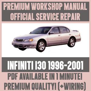 * Atelier Manual Service & Repair Guide For Infiniti I30 1996-2001 + Faisceau De Câblage-afficher Le Titre D'origine Soulager Le Rhumatisme Et Le Froid