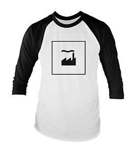 Factory-Records-unisex-baseball-t-shirt-tutte-le-taglie