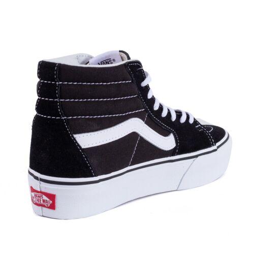 2 hi Negro Sk8 Zapato Zapatos De Plataforma Zapatillas Señora 51477 Vans wTFqUH1n