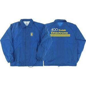 Girl-Kodak-Ektachrome-Coaches-Jacket-M-Blue