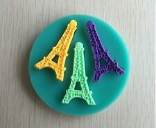 Eiffel Tower  Fondant Silicone Chocolate Clay Silicon Molder Jelly Mold