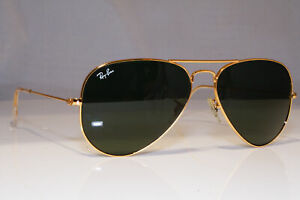 RAY-BAN-Mens-Womens-Unisex-Sunglasses-Gold-Pilot-AVIATOR-RB-3025-L0205-21990