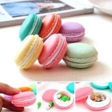 6PCS Mini Kopfhörer SD Karte Macarons Bag Storage Box Case Carrying Pouch
