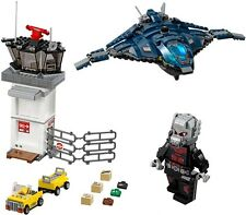 (NEW) LEGO Marvel - Giant Man & Quinjet - NO FIGURES OR BOX - split from 76051
