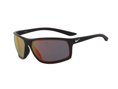 Accurato Occhiali Da Sole Nike Autentici Adrenaline M Ev1113 016 Nero Rosso Specchiato