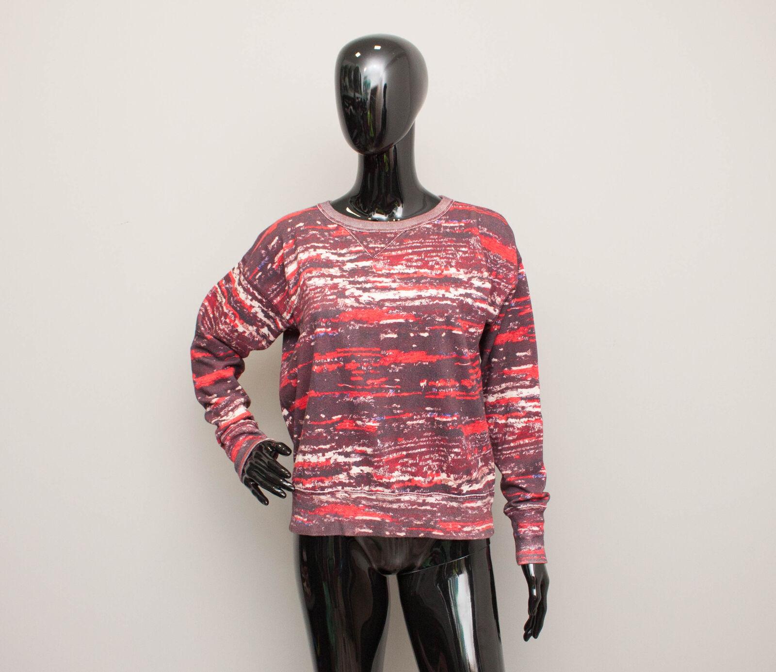 ISABEL MARANT pour H&M Sweatshirt Top Red Print size size size 38 255711