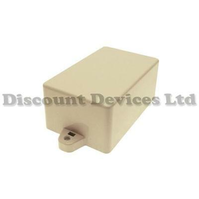 82x52x35 ABS Plastic Screwless Electric / Electronic Enclosure Project Box