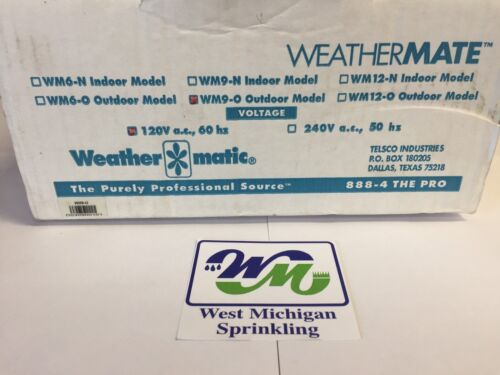 Weathermatic WM9-O 9 Station Zone Sprinkler Controller