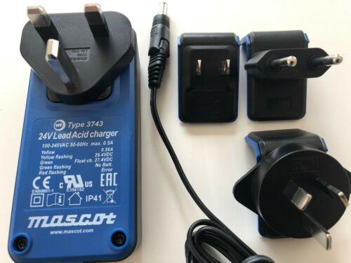 Electric E Scooter Bike 24V Lead Acid Battery Charger international plugs 0.56A