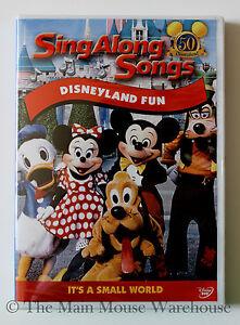 Disneyland-Fun-Sing-Along-Songs-Disney-Music-Karaoke-DVD-It-039-s-A-Small-World-Etc