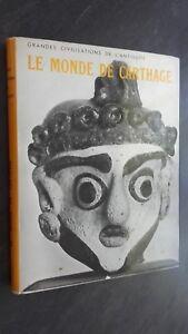 El Monde Cartago Gilbert Picard Demuestra Ed. Correa París 1956 Buen Estado