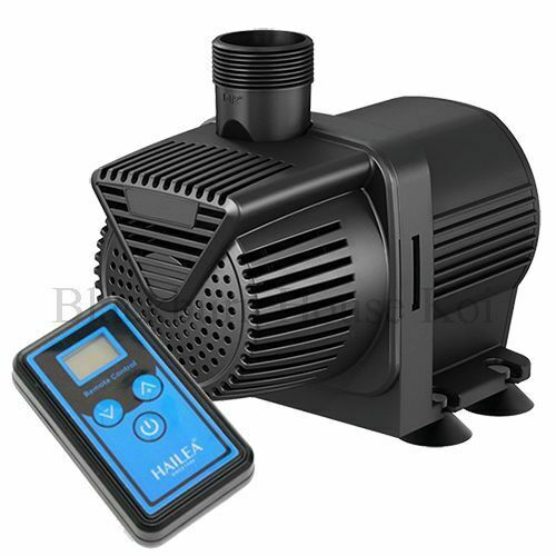 SOLD OUT!! Hailea BP8000 Pond/Water Pump WITH Remote Control. On/Off + Flow