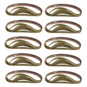 330-mm-x-10-mm-Ceinture-Power-doigt-fichier-PONCEUSE-ABRASIF-PONCAGE-CEINTURES