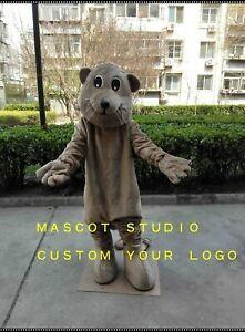 Beaver-Mascot-Costume-Suit-Cosplay-Party-Game-Dress-Unisex-Advertising-Halloween
