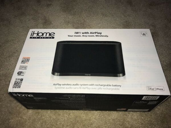 100% Kwaliteit Ihome Iw1 Airplay Wireless Stereo Speaker System Brand New!