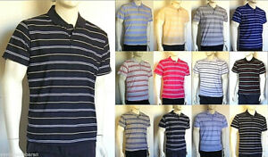 Polo Uomo Maglia USA JEANS SPORT Made in Italy D252 Tg S M L