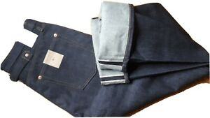 Jeans denim Lutece MFG CO Martingale Selvedge  rockabilly us navy w34