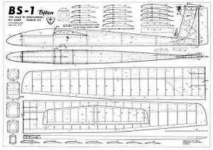 Details about WIK BS-1 plans r/c glider