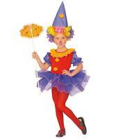 Clown Kinderkostüm Karneval Fasching Ballerina bunt für Kinder Spaß