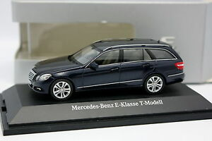 Schuco-1-43-Mercedes-Classe-E-W212-Break-Bleue
