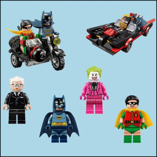 Batman Lego charactors Autocollant Mural Transfert individuel-Ensemble complet 6 decal