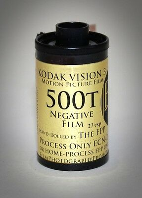 35mm Film - Kodak Vision 3 - 500T (for your 35mm still camera)