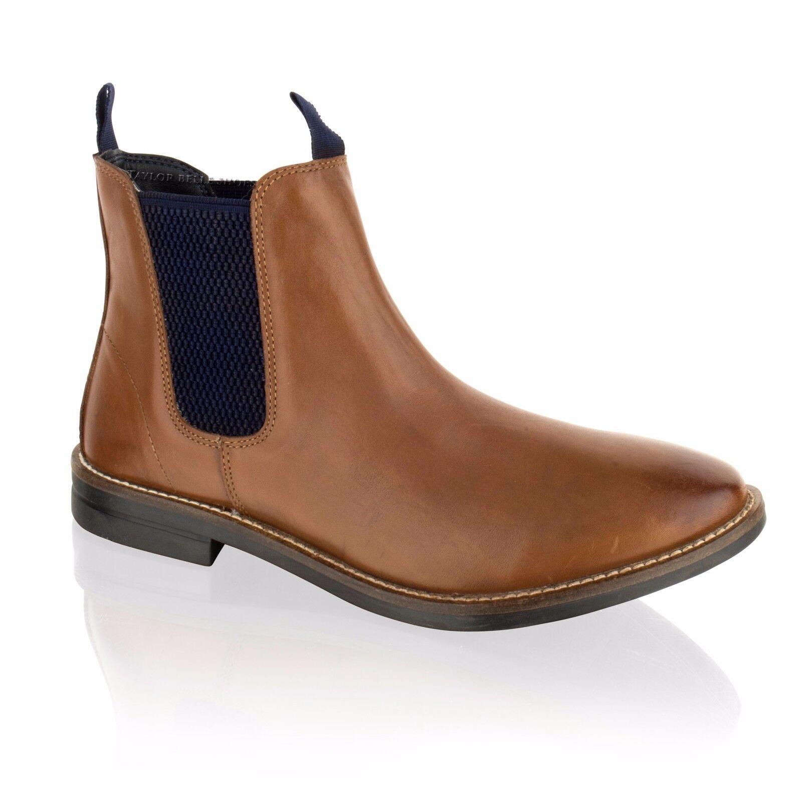 NEU Herren Wildleder Chelsea Dealer Smart 7-12 Kleid Stiefeletten Schuhe Größe 7-12 Smart 253f8d