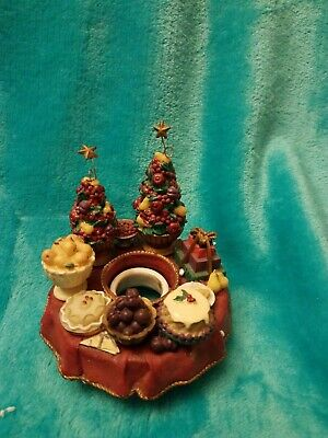 Old Virginia Candle Capper Holiday Fruit Gently Used | eBay