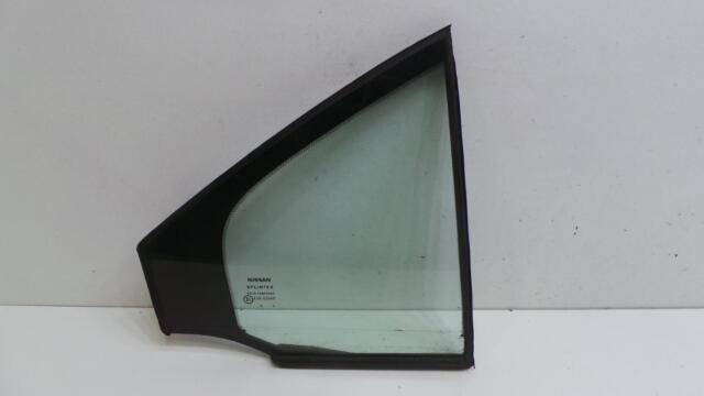Nissan Primera Door Glass Right Rear P12 Driver O//S Rear Window Glass 2004