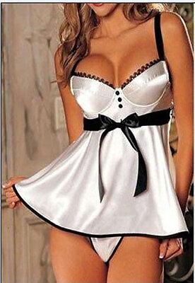 PLUS SIZE S-6XL Sexy Women Sleepwear Babydoll Nightwear Robes CHRISTMAS LINGERIE