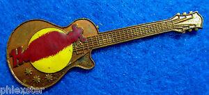 Processo-Nessun-Nome-Rosso-Gibson-Les-Paul-Chitarra-Rete-2nd-Palco-Rigida-Rock-A