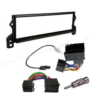 Kit montaggio mascherina adattatore connettore autoradio 1 DIN BMW Mini Cooper