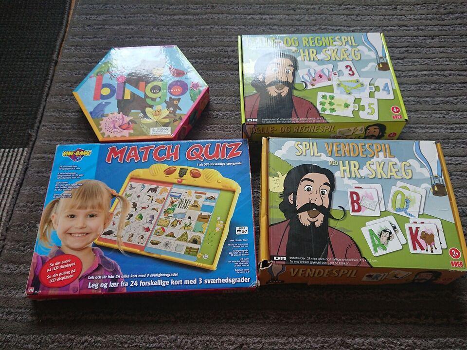 Blandet, Familiespil, andet spil