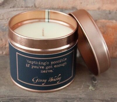harry potter ginny weasley quote inspired scented candle gift