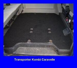 gastraum teppich fu matten vw bus t4 caravelle ab 96 ebay. Black Bedroom Furniture Sets. Home Design Ideas